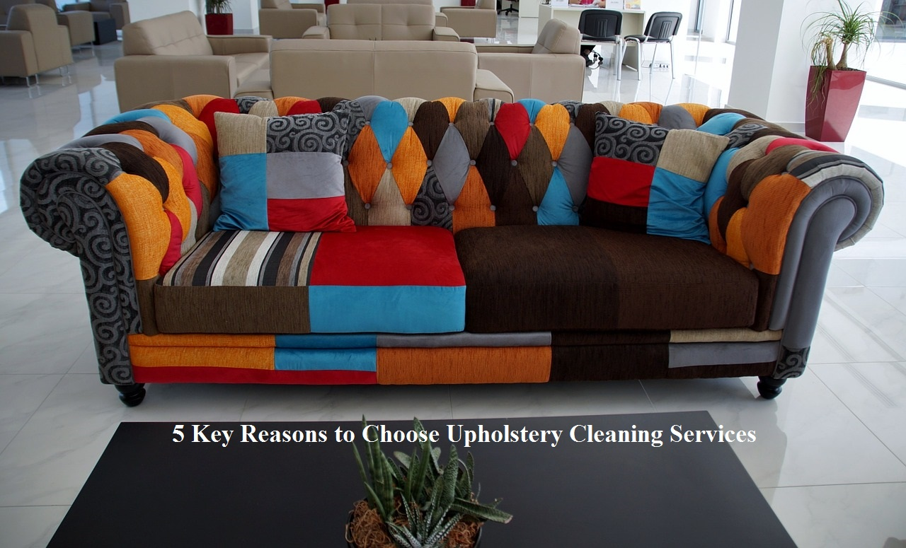 5 Key Reasons to Choose Upholstery Cleaning Services
