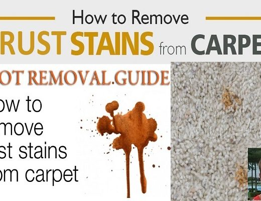 Here are Some Tips to Remove Rust from Your Carpet
