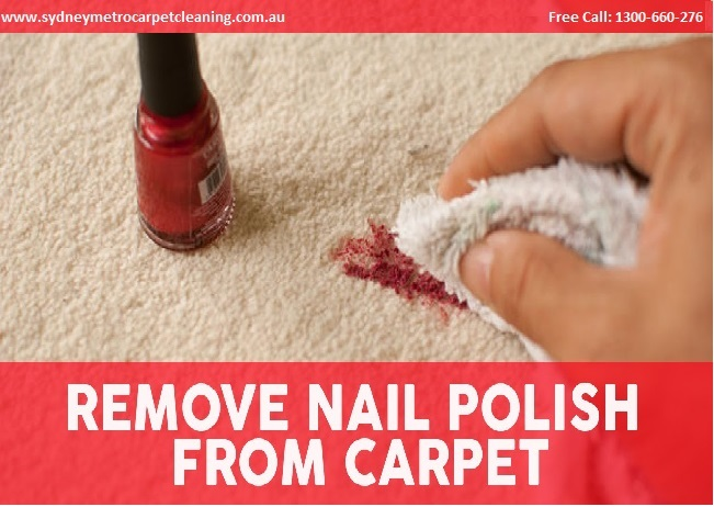 Cleaning Tips: How to Clean Nail Polish from Your Carpet